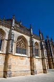Património da Catedral de batalha perto de Leiria, Portugal
