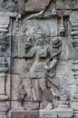 Carved Stone At Borobudur