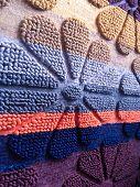 Ethnic Texture Design. Traditional Carpet Design. Carpet Decoration. Rustic Carpet Design. poster