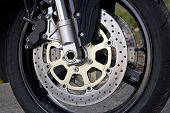 Motorcycle Wheel Detail