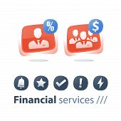 Corporate Service, Mutual Fund Management, Financial Account, Small And Big Company, Growth And Cons poster