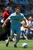 CARSON, CA. - July 24: Manchester City FC M James Milner #7 during the World Football Challenge game