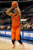 LOS ANGELES - MARCH 10: Oregon State Beavers G Jared Cunningham #1 in action during the NCAA Pac-10