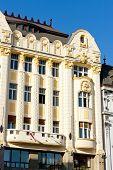 Palace of the Hungarian exchange bank, Main Square (Hlavne namestie), Bratislava, Slovakia