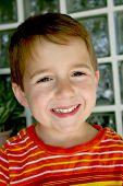 Happy Brown Eyed Boy