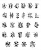 Antique Ornamental Alphabet (1889)