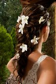 Fancy Bride Hairdress