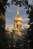 Golden Church Tower