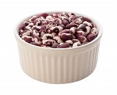 Anasazi Beans Isolated With Clipping Path