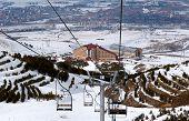 Mountain Ski Resort Palandoken Turkey