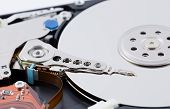Close Up Harddisk Drive