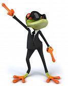 Cool Frosch