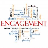 Engagement Word Cloud Concept