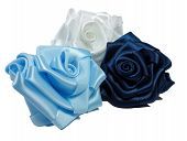Three Silk Roses