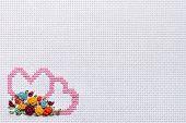 Needlework, cross-stitch