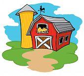 Celeiro da fazenda