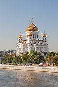 Cathedral In Honor Of Christ The Savior In Moscow