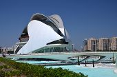 Opera House at the City of Arts and Sciences in Valencia, Spain