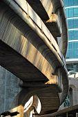 Bangkok Bts Skytrain Architecture, Thailand