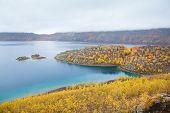 Lake Nemrut (Nemrut G�l�) in caldera of volcano