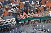 Brugge - Grote Markt Birds Eye View