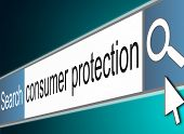 Consumer Protection Concept.