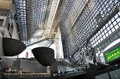Kyoto, Japan - Oct 27: Kyoto Station Is Japan's 2Nd Largest Train Station, Futurism Architecture