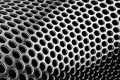 Perforated Cylindrical Pattern