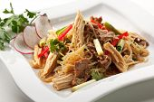 Crystal Noodles Salad with Beef
