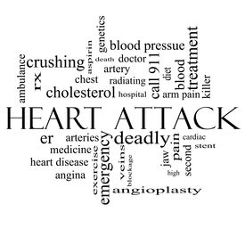 picture of stent  - Heart Attack Word Cloud Concept in black and white with great terms such as heart disease rx artery doctor and more - JPG