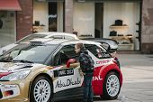 Wrc Championship Preparation In Strasbourg