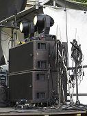 Powerfull Concerto Audio Speakers ,amplifiers ,spotlights, Stage Equipment