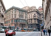 The Centre Of Genoa