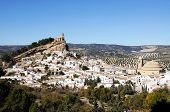 White village, Montefrio, Spain.