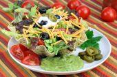 Taco Salad In Taco Bowl