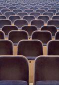 Full Frame of Spectators seats