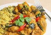 Lamb Korma Curry Meal