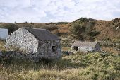 Stone Buildings In County Donegal