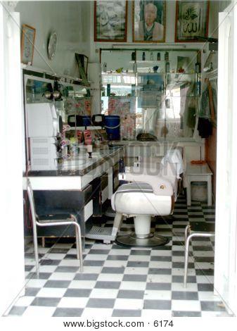 Old Barber Shop poster