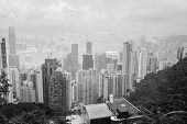 HONG KONG - MAY 25: view from Victoria Peak on May 25, 2012 in Hong Kong, China. Hong Kong alternatively known by its initials H.K., is situated on China's south coast.