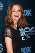 LOS ANGELES - MAR 18:  Jayma Mays at the GLEE 100th Episode Party at Chateau Marmont on March 18, 20