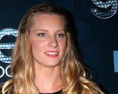 LOS ANGELES - MAR 18:  Heather Morris at the GLEE 100th Episode Party at Chateau Marmont on March 18