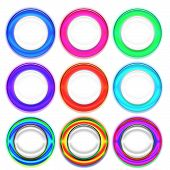Set Of Colorful Rings