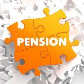 Pension on Orange Puzzle.
