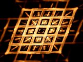 Gold Grid Nanotechnology