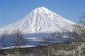 Koryaksky Volcano Of Kamchatka Peninsula.