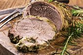 picture of lamb  - lamb roast - JPG