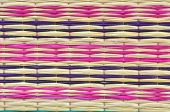 Colorful Straw Mat