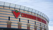 OTTAWA - July 1, 2013: The New Name of the Ottawa Senators NHL Hockey Team Arena Changes From Scotia