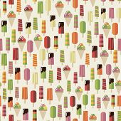 summer pattern ice cream